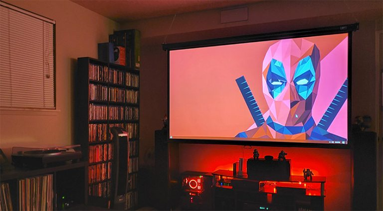 """Building a Budget """"Home Theater"""" for Movie Nights"""