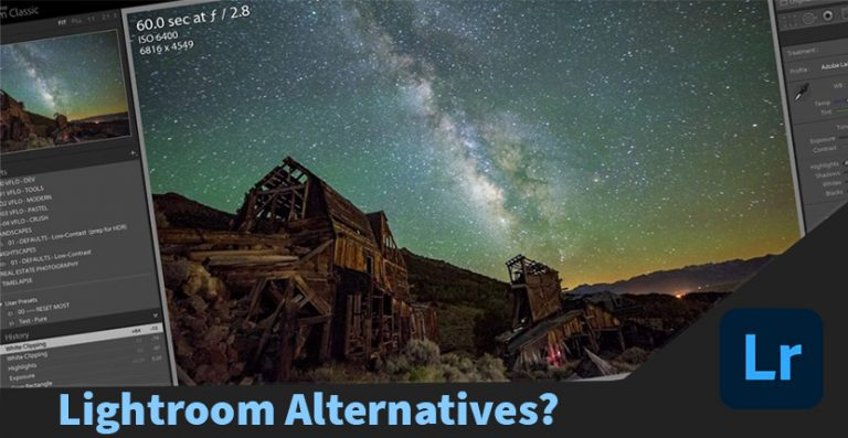 Lightroom is Great for Photography but what are the Alternatives?
