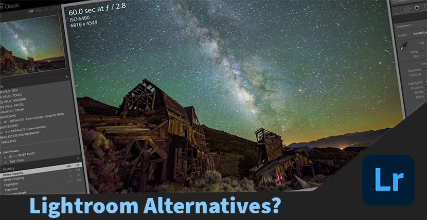 Lightroom is Great for Photography but What are the Alternatives