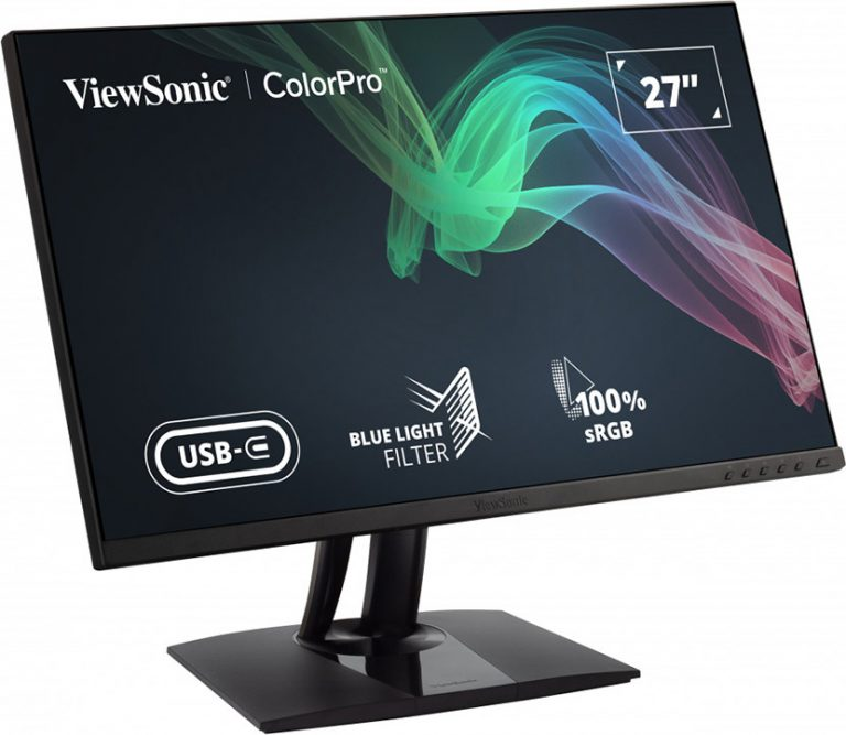 ViewSonic introduces pre-calibrated monitors VP2756-2k and VP2756-4K